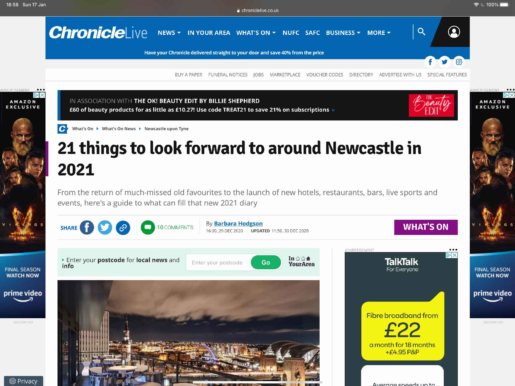 21 things to look forward to around Newcastle in 2021